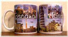 "Ceramic cup Tuscany ""city"""