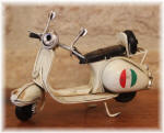 Small Vespa White